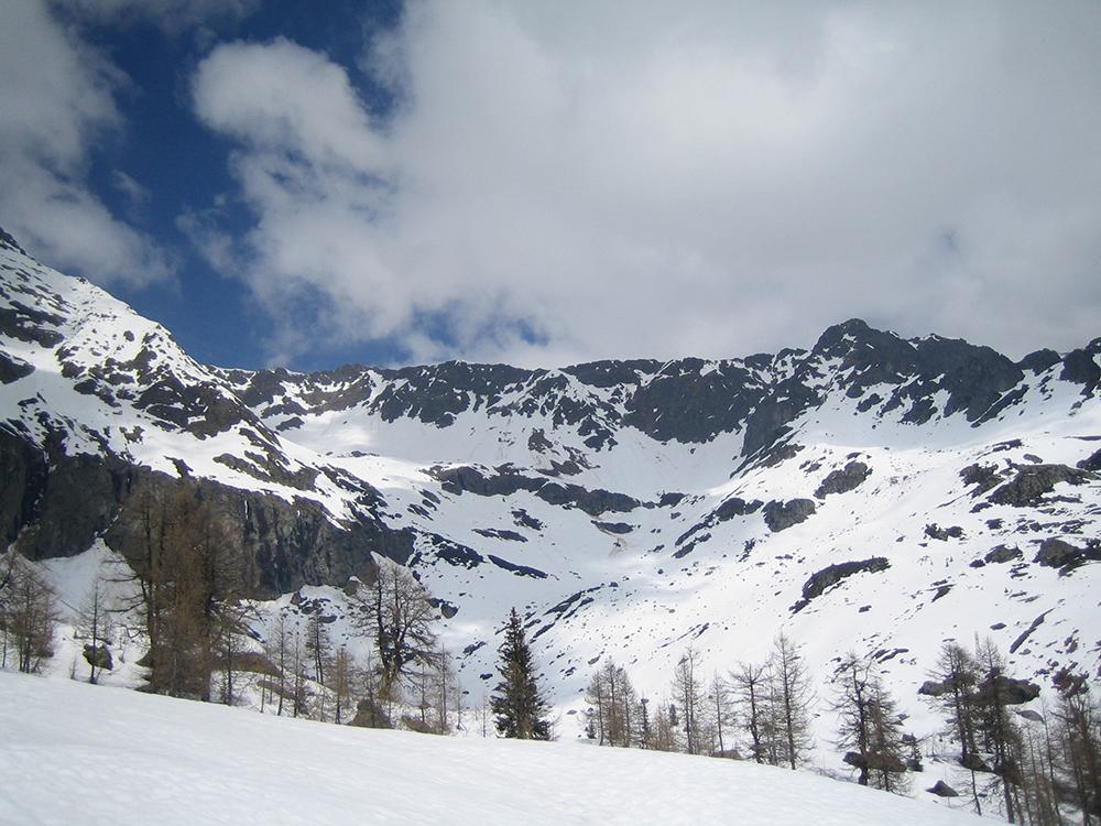 Manteau neigeux à Loriaz