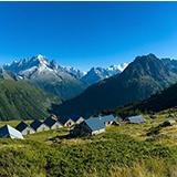 Refuge d'altitude de Loriaz